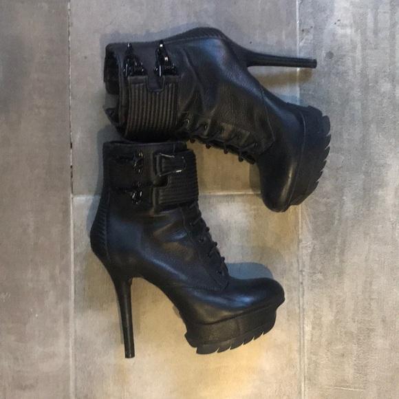 b55063ccb74db Sam Edelman Shoes - Sam Edelman - Vixen Stiletto Platform booties